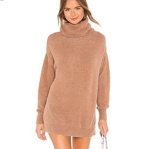 Tularosa Camel Webster Sweater Dress XXS